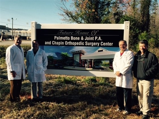 Chapin welcomes Palmetto Bone & Joint!