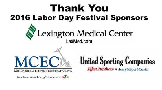 Thank You Labor Day SPonsors