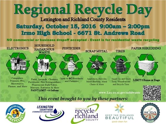 Regional Recycle Day graphic