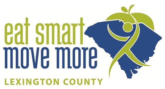 eat smart move more lexington county logo