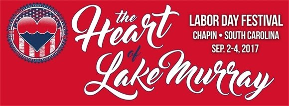 Heart of Lake Murray Labor Day Banner