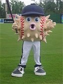 Blowie - the Lexington Blowfish Mascot