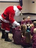 Santa visit 2017